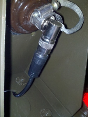 antenna cable elbow