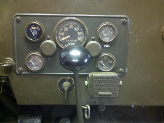 New volt gauge